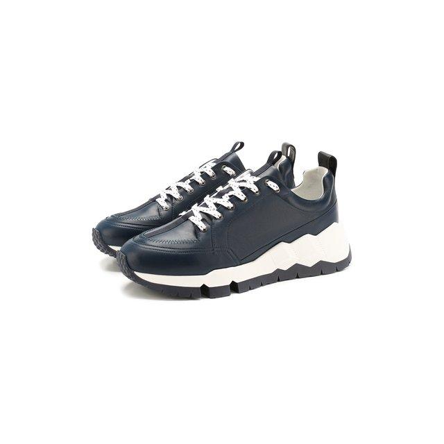 Кожаные кроссовки Pierre Hardy — Кожаные кроссовки