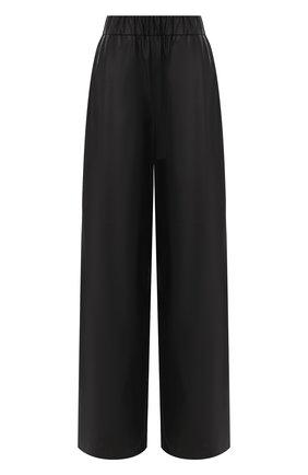 Женские кожаные брюки MASLOV черного цвета, арт. BR102   Фото 1