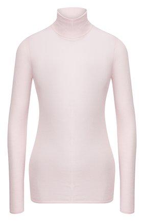 Женская водолазка из смеси кашемира и шелка GABRIELA HEARST светло-розового цвета, арт. 320903 A003 | Фото 1