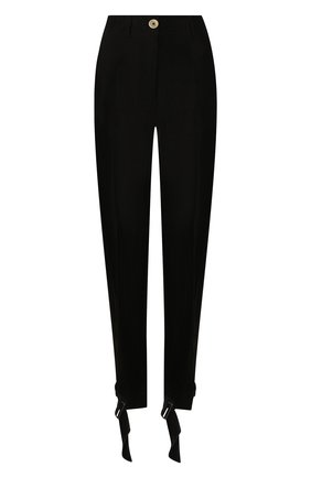 Женские брюки ANN DEMEULEMEESTER черного цвета, арт. 2001-1412-P-138-099 | Фото 1