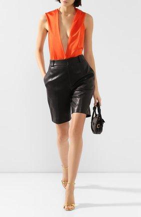 Женское боди BALMAIN оранжевого цвета, арт. TF00960/X372 | Фото 2