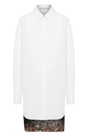 Женская хлопковая рубашка STELLA MCCARTNEY белого цвета, арт. 601191/SMA90 | Фото 1