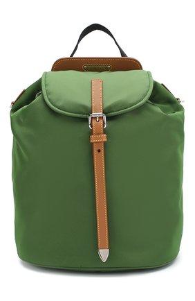 Женский рюкзак PRADA зеленого цвета, арт. IBZ064-V44-F0LV1-OOO | Фото 1