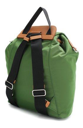 Женский рюкзак PRADA зеленого цвета, арт. IBZ064-V44-F0LV1-OOO | Фото 2