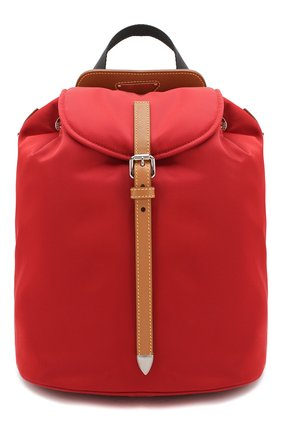 Женский рюкзак PRADA красного цвета, арт. IBZ064-V44-F0LLS-OOO | Фото 1