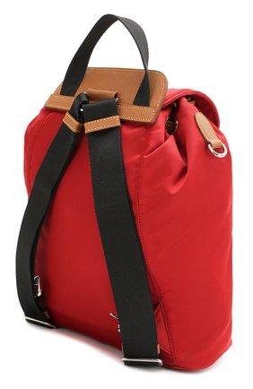 Женский рюкзак PRADA красного цвета, арт. IBZ064-V44-F0LLS-OOO | Фото 2