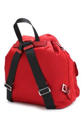 Женский рюкзак PRADA красного цвета, арт. IBZ811-V44-F0XDG-OTO | Фото 2