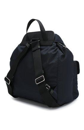 Женский рюкзак PRADA темно-синего цвета, арт. IBZ063-V44-F0AI7-OOH | Фото 2