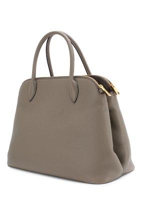 Женская сумка PRADA серого цвета, арт. IBA265-2BBE-F0572-OOO | Фото 2