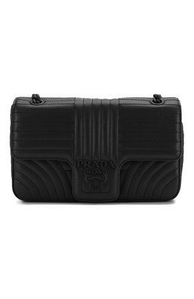 Женская сумка PRADA черного цвета, арт. 1BD108-WD91-F0ES9-AOI | Фото 1