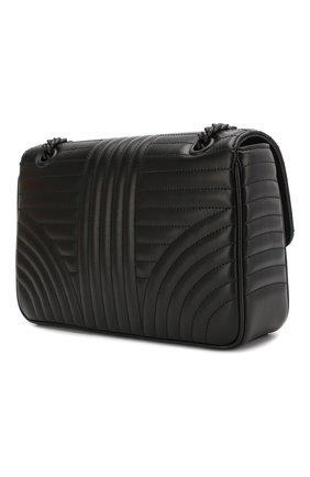 Женская сумка PRADA черного цвета, арт. 1BD108-WD91-F0ES9-AOI | Фото 2