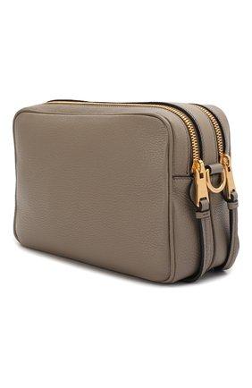 Женская сумка PRADA серого цвета, арт. IBH082-2BBE-F0572-NOM | Фото 2