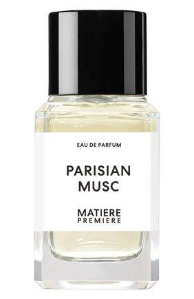 Женский парфюмерная вода parisian musc MATIERE PREMIERE бесцветного цвета, арт. 3770007317193 | Фото 1