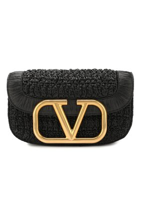 Женская сумка valentino garavani supervee VALENTINO черного цвета, арт. TW0B0G09/LAX | Фото 1