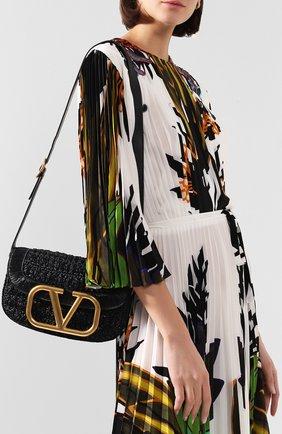 Женская сумка valentino garavani supervee VALENTINO черного цвета, арт. TW0B0G09/LAX | Фото 2