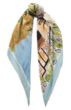 Женский платок beverly hills LORO PIANA разноцветного цвета, арт. FAL0123 | Фото 1