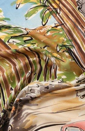 Женский платок beverly hills LORO PIANA разноцветного цвета, арт. FAL0123 | Фото 2