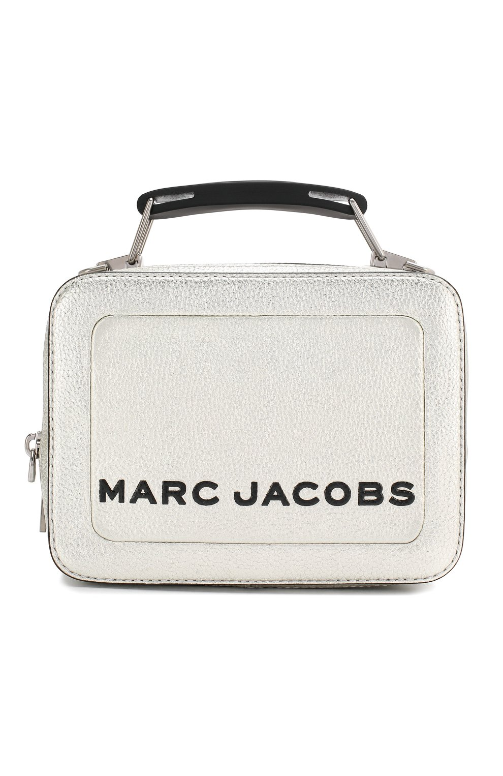Женская сумка the box 20 MARC JACOBS (THE) серебряного цвета, арт. M0016183 | Фото 1