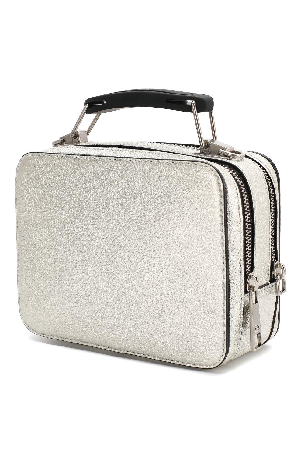 Женская сумка the box 20 MARC JACOBS (THE) серебряного цвета, арт. M0016183 | Фото 3