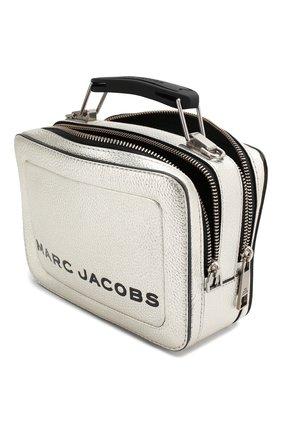 Женская сумка the box 20 MARC JACOBS (THE) серебряного цвета, арт. M0016183 | Фото 4