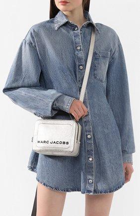 Женская сумка the box 20 MARC JACOBS (THE) серебряного цвета, арт. M0016183 | Фото 5