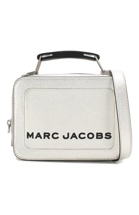 Женская сумка the box 20 MARC JACOBS (THE) серебряного цвета, арт. M0016183 | Фото 6