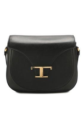 Женская сумка t singola TOD'S черного цвета, арт. XBWTSIC0100R0R | Фото 1