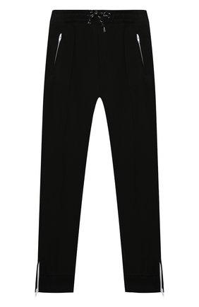 Детские хлопковые брюки PAOLO PECORA MILANO черного цвета, арт. PP2314/14A-16A | Фото 1