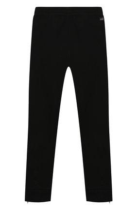 Детские хлопковые брюки PAOLO PECORA MILANO черного цвета, арт. PP2314/14A-16A | Фото 2