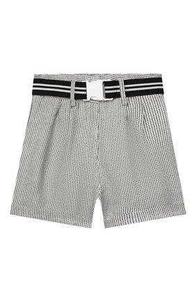 Детские шорты INDEE черно-белого цвета, арт. GLENN/LAVA/8A-10A | Фото 1