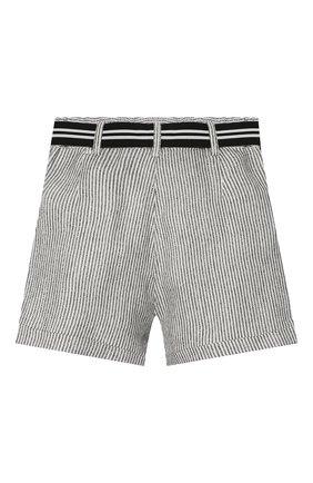 Детские шорты INDEE черно-белого цвета, арт. GLENN/LAVA/8A-10A | Фото 2