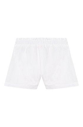 Детские льняные шорты IL GUFO белого цвета, арт. P20PS063L6009/5A-8A | Фото 2