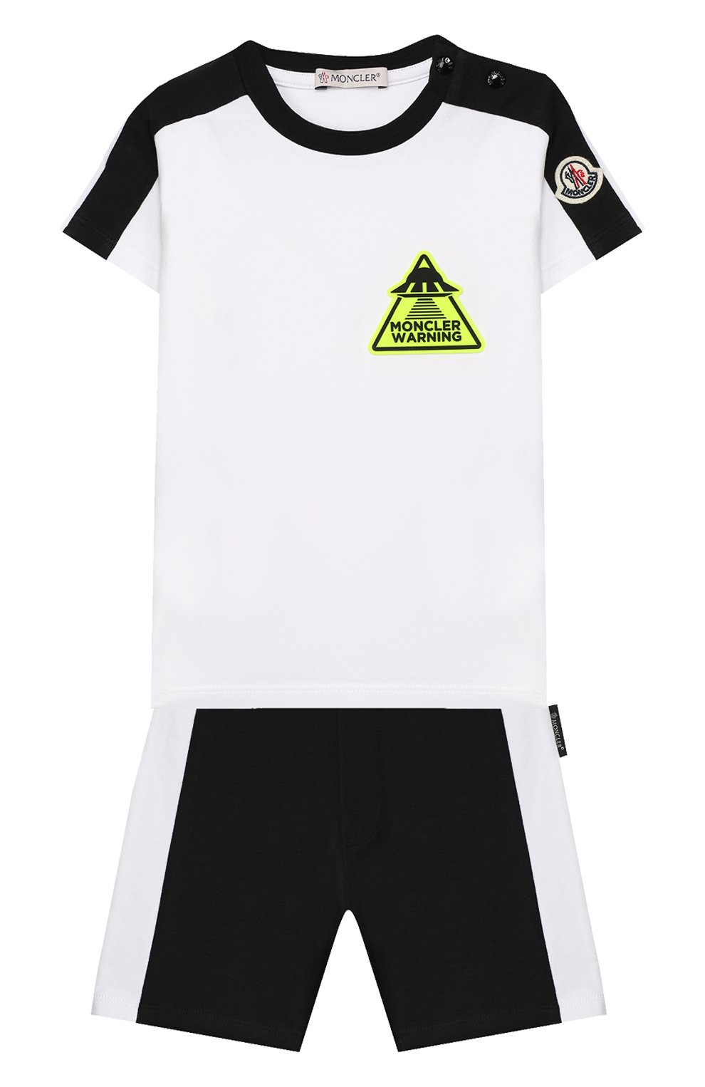 Комплект из футболки и шорт   Фото №1