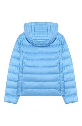 Детского пуховая куртка MONCLER голубого цвета, арт. F1-954-1A131-10-53048/12-14A   Фото 2