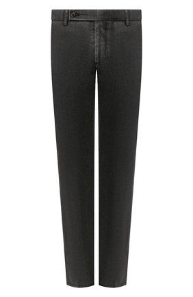 Мужской шерстяные брюки BERWICH темно-серого цвета, арт. SC/1/MZ0260B | Фото 1
