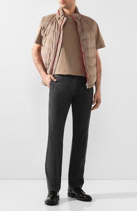 Мужской шерстяные брюки BERWICH темно-серого цвета, арт. SC/1/MZ0260B | Фото 2