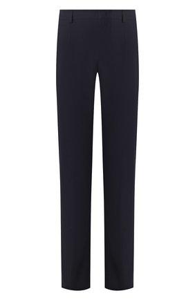 Мужские брюки из смеси хлопка и шелка LORO PIANA темно-синего цвета, арт. FAL1505 | Фото 1 (Материал внешний: Хлопок; Длина (брюки, джинсы): Стандартные; Случай: Повседневный; Стили: Кэжуэл)