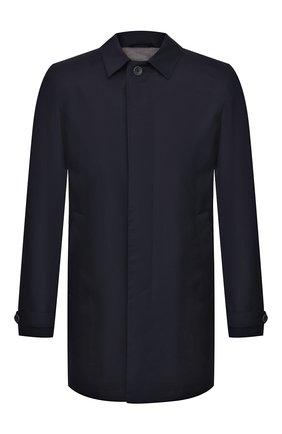 Мужской шерстяной плащ HERNO темно-синего цвета, арт. IM0253U/33238 | Фото 1