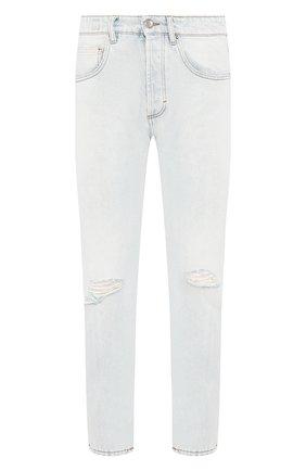 Мужские джинсы DON THE FULLER голубого цвета, арт. DHS0/B0ST0N/DTF/CLB | Фото 1