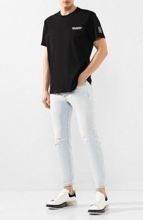 Мужские джинсы DON THE FULLER голубого цвета, арт. DHS0/B0ST0N/DTF/CLB | Фото 2
