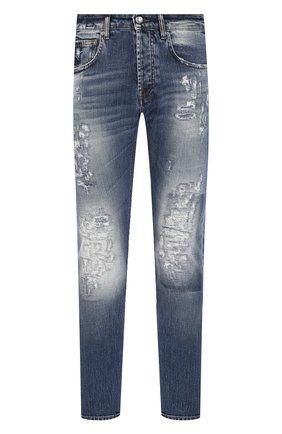 Мужские джинсы DON THE FULLER синего цвета, арт. DHS0/NEWY0RK/DTF/UT | Фото 1