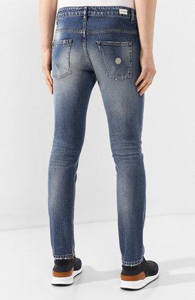 Мужские джинсы DON THE FULLER синего цвета, арт. DHS0/NEWY0RK/DTF/UT   Фото 4