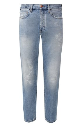 Мужские джинсы DON THE FULLER синего цвета, арт. DHS0/SE0UL/DTF/CLB | Фото 1