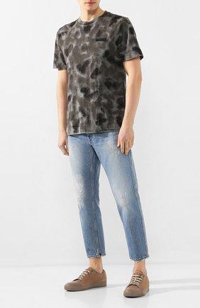 Мужские джинсы DON THE FULLER синего цвета, арт. DHS0/SE0UL/DTF/CLB | Фото 2
