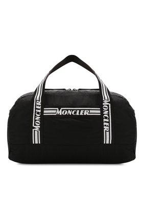 Мужская дорожная сумка MONCLER черного цвета, арт. F1-09A-7A700-00-02SC9 | Фото 1
