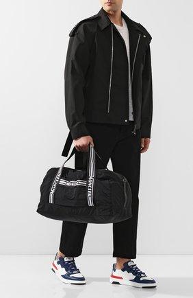 Мужская дорожная сумка MONCLER черного цвета, арт. F1-09A-7A700-00-02SC9 | Фото 2