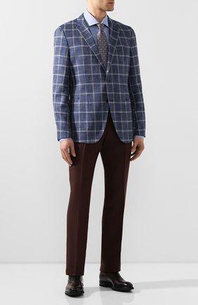 Мужские кожаные оксфорды MAGNANNI бордового цвета, арт. 21252/B0LTIARCADE | Фото 2