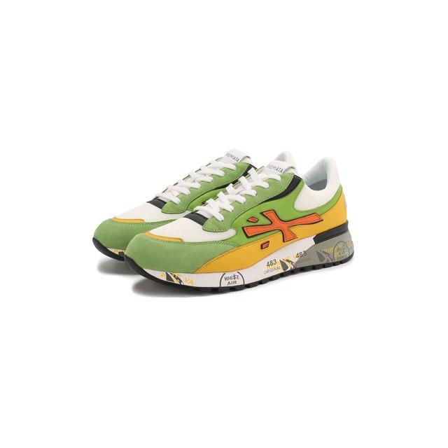 Комбинированные кроссовки Django Premiata — Комбинированные кроссовки Django
