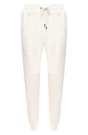 Женские шелковые джоггеры TOM FORD белого цвета, арт. PAJ047-FAX468 | Фото 1