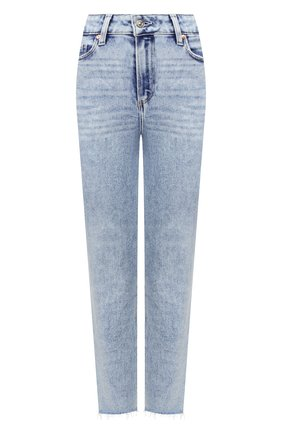 Женские джинсы PAIGE голубого цвета, арт. 4875E77-8105 | Фото 1